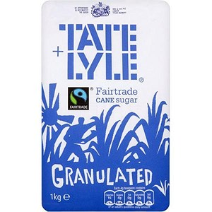 Image of Tate and Lyle Granulated Pure Cane Sugar - 1kg Bag