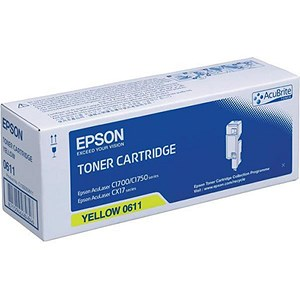 Image of Epson 0611 Yellow Laser Toner Cartridge