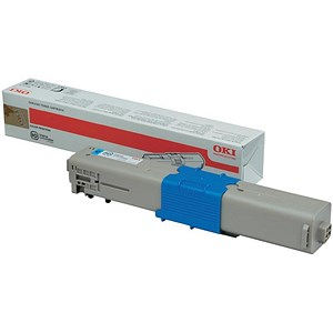 Image of Oki 44973535 Cyan Laser Toner Cartridge