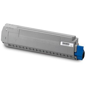 Image of Oki 44059167 Cyan Laser Toner Cartridge