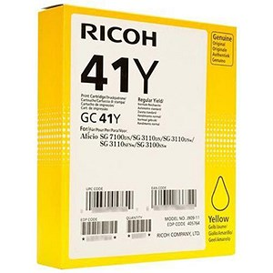 Image of Ricoh 41Y Yellow Print Cartridge