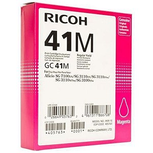 Image of Ricoh 41M Magenta Print Cartridge