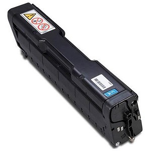 Image of Ricoh SP C220E Cyan Laser Toner Cartridge