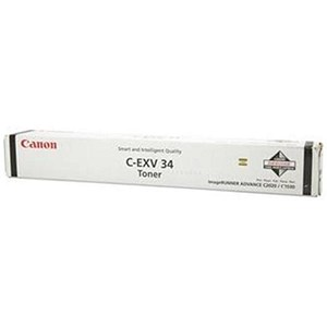 Image of Canon C-EXV34 Black Laser Toner Cartridge