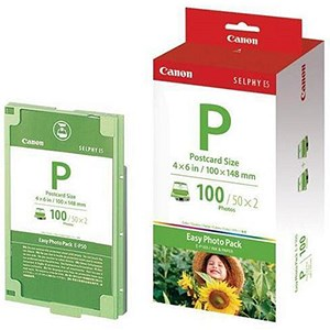 Image of Canon Easy Photo Pack / 10x15cm / 100 Sheets / Ref EP100