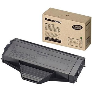 Image of Panasonic KX-FAT410X Black Laser Toner Cartridge