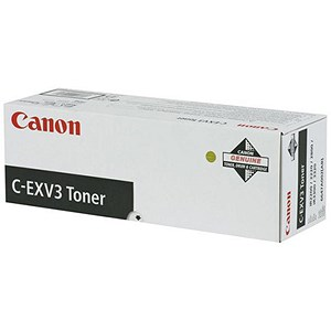 Image of Canon C-EXV3 Black Laser Toner Cartridge