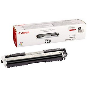 Image of Canon 729 Black Laser Toner Cartridge