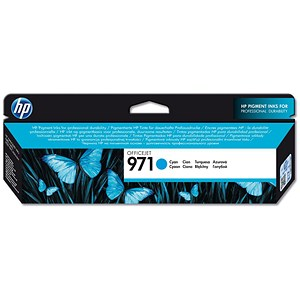 Image of HP 971 Cyan Ink Cartridge
