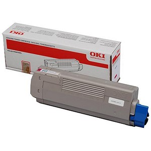 Image of Oki C610 Magenta Laser Toner Cartridge