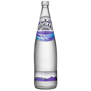 Image of Highland Spring Still Mineral Water - 12 x 1 Litre Glass Bottles