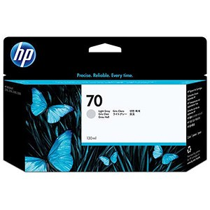 Image of HP 70 Light Grey Ink Cartridge