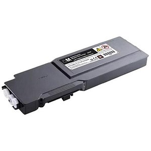 Image of Dell C3760dn/C3760n/C3765dnf High Capacity Magenta Laser Toner Cartridge