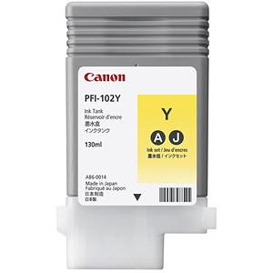 Image of Canon PF1-102Y Yellow Ink Tank