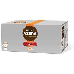 Image of Nescafe Azera Latte Coffee Sachets - Pack of 50