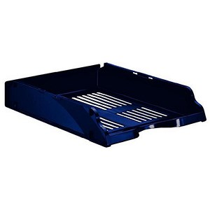 Image of Esselte Transit Letter Tray - Blue