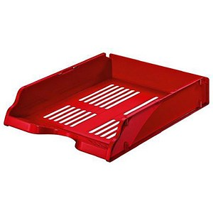 Image of Esselte Transit Letter Tray - Red
