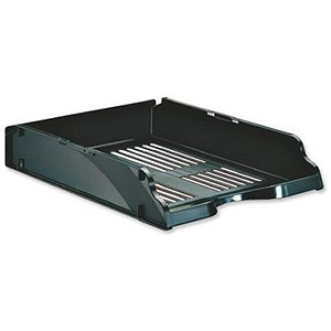 Image of Esselte Transit Letter Tray - Black