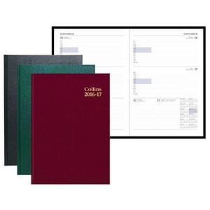 Image of Collins 2016 - 2017 Academic Year Diary / A4 / Week to View / 40M