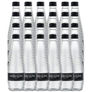 Image of Harrogate Still Spring Water - 24 x 330ml Glass Bottles