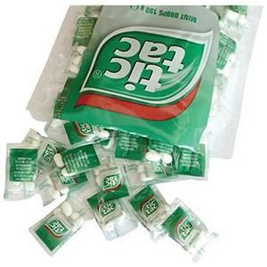 Image of Tic Tac Mint Drops - Pack of 100