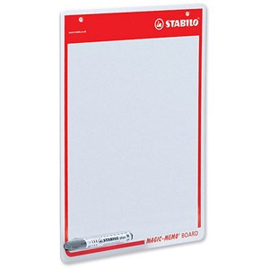 Image of Stabilo Memo Drywipe Board with Pen - A3