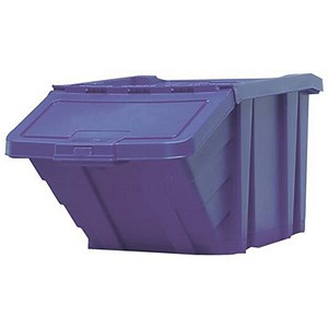 Image of Recycle Storage Bin - Blue