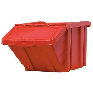 Image of Recycle Storage Bin / 87 Litre / Red