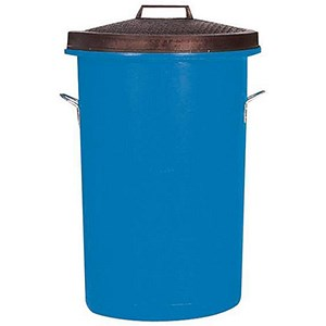 Image of Heavy Duty Dustbin / 85 Litre / Blue