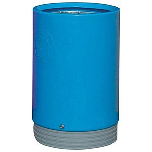 Image of Open Top Bin - Light Blue