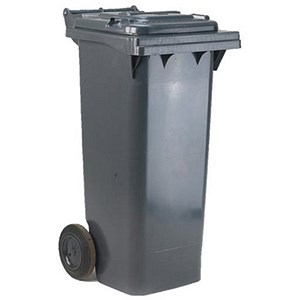 Image of Wheelie Bin / 80 Litre / Grey