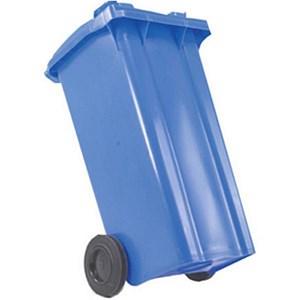 Image of Wheelie Bin / 140 Litre / Blue