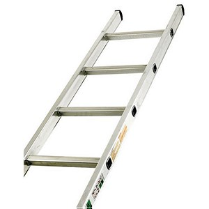 Image of Aluminium Ladder Single Section - 16 Rungs
