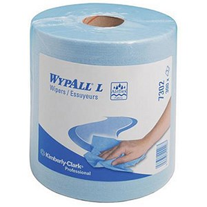 Image of Wypall L30 Wipers / Centrefeed Roll / Blue / 6 Rolls