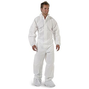 Image of Keepsafe Hooded Coverall / Type 5/6 / XXL