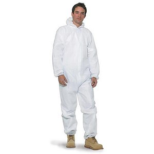 Image of Keepsafe Hooded Coverall / Short Life / XXL