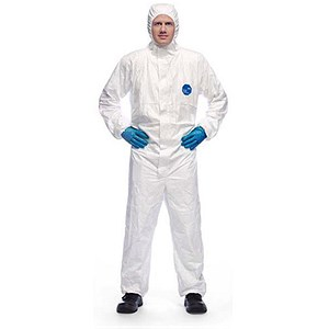 Image of Tyvek Xpert Hooded Coverall / Type 5/6 / XL