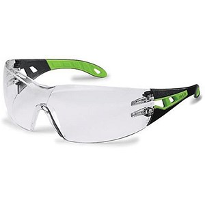 Image of Uvex Pheos Safety Spectacles / Sport Style Wrap / Clear Lens