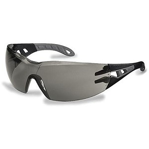 Image of Uvex Pheos Safety Spectacles / Sport Style Wrap / Smoke Lens