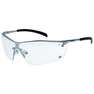 Image of Bolle Safety Spectacles / Clear Lens / Adjustable Nose Pads