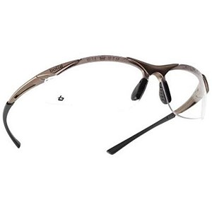 Image of Bolle Safety Spectacles / Clear Lens / Microfibre Bag