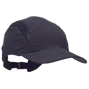Image of Scott HC23 First Base Safety Bump Cap - Black
