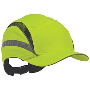Image of Scott HC23 First Base Safety Bump Cap - Yellow
