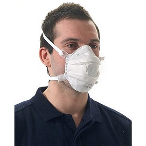 Image of Keepsafe FFP3 Disposable Valved Masks - Pack of 5