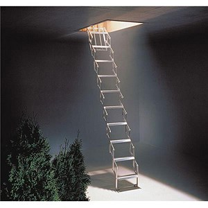 Image of Concertina Ladder - Aluminium