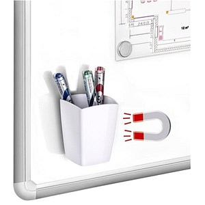 Image of CEP Magnetic Pencil Cup 2 Sections - White