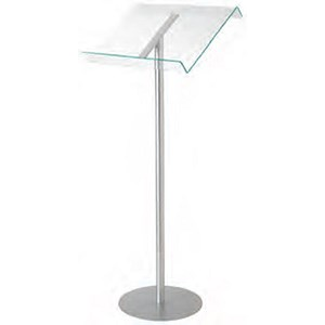 Image of Deflecto Browser Lectern With Floor Stand