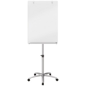 Image of Nobo Diamond Mobile Easel / Glass / 700x1000mm