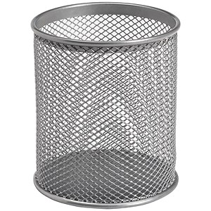 Image of Pencil Holder Wire Mesh - Silver