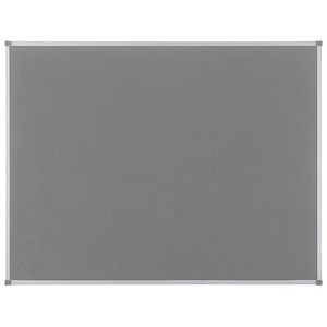 Image of Nobo Classic board / Grey / 1880x1200mm
